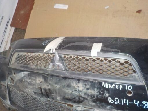 Бампер передний Mitsubishi Lancer (CX,CY) 2007>  6400D172
