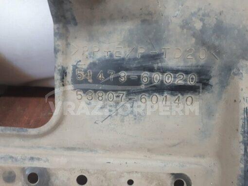 Пыльник бампера (защита) передний лев. Lexus LX 570 2007>  5147360020