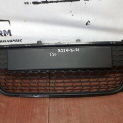Решетка бампера переднего центральная (без ПТФ) Hyundai i30 2007-2012  865612L010 б/у
