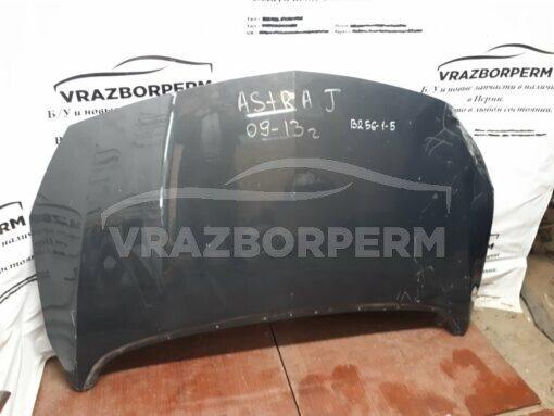 Капот Opel Astra J 2010>   б/у