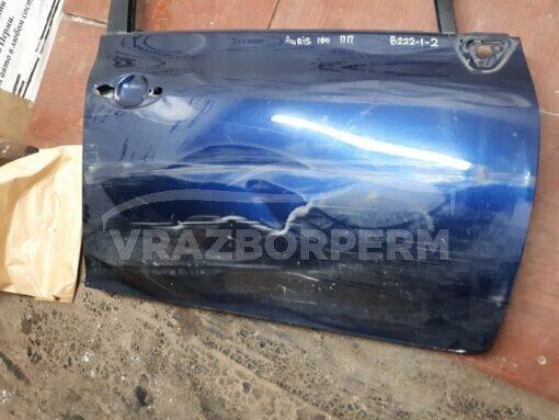 Дверь передняя правая Toyota Auris (E15) 2006-2012  6700102260 б/у