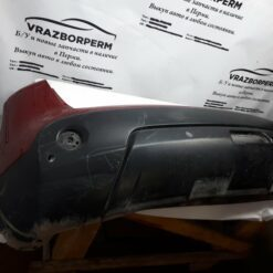 Бампер задний Nissan Qashqai (J10) 2006-2014  85022JD00H б/у 1