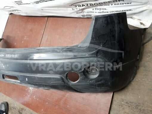 Бампер задний Nissan Qashqai (J10) 2006-2014  85022JD00H б/у