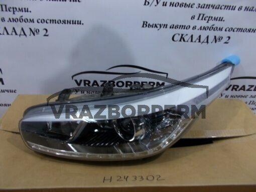 Фара левая перед. Kia Ceed 2012>  92101A2220FFF, 92101A2220 б/у