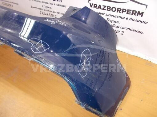 Бампер задний Ford Focus III 2011> BM51A17906AGW 1743130 б/у