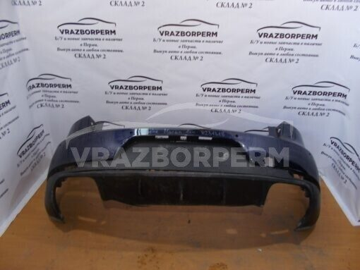 Бампер задний Porsche Macan 2013> 95B807421, 95B807834 95B807421G2X, 95B807521NG2X, 95B807834EOK1 б/у