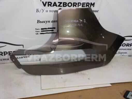 Бампер задний правая часть (уголок) Peugeot Partner Tepee(B9) 2008-2018  7410GC  б/у