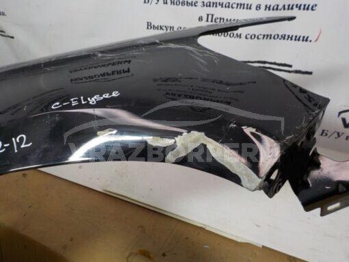 Крыло переднее правое Citroen C-Elysee 2012>  9674790480 б/у