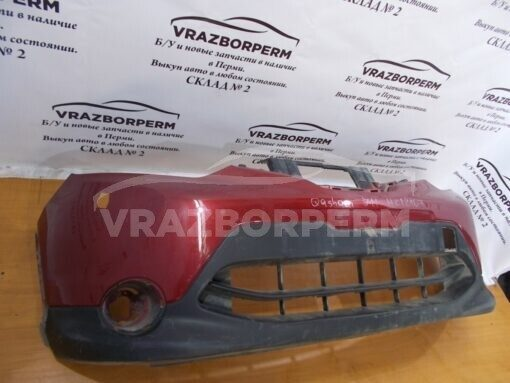 Бампер передний Nissan Qashqai (J11) 2014>  620224EA0H б/у