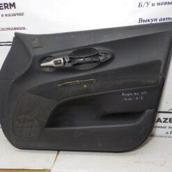 Обшивка двери передней правой (дверная карта) Toyota Auris (E15) 2006-2012  6761002D60B0 б/у