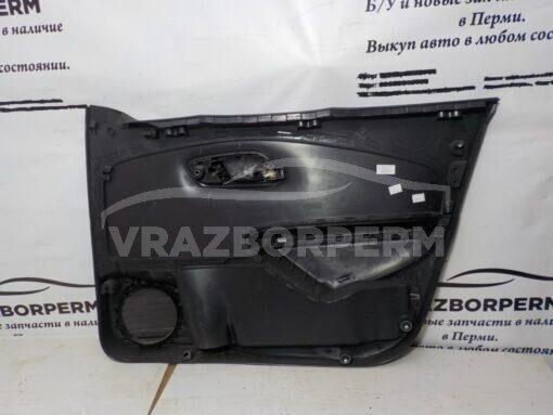 Обшивка двери передней левой (дверная карта) Volkswagen Polo (Sed RUS) 2011>  6RU867011E82V б/у