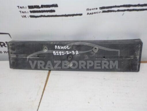 Накладка бампера переднего (под номер) Chevrolet Lanos 2004-2010  96226169 б/у