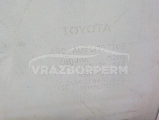 Стекло двери передней правой (опускное) Toyota RAV 4 2006-2013   6810142170 б/у