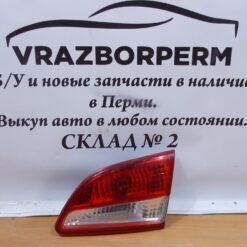 Фонарь задний правый внутренний (в крышку) Nissan Almera (G15) 2013>  265004AA1A б/у