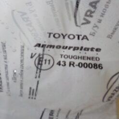 Стекло двери задней правой (опускное) Toyota Hilux 2005-2015 б/у 1