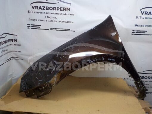 Крыло переднее левое Renault Duster 2012>  631012718R б/у