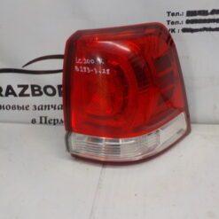 Фонарь задний правый наружный (в крыло) Toyota Land Cruiser (200) 2008>  8155160820 б/у