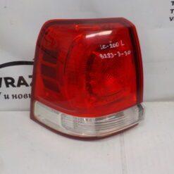 Фонарь задний левый наружный (в крыло) Toyota Land Cruiser (200) 2008>  8156160750 б/у