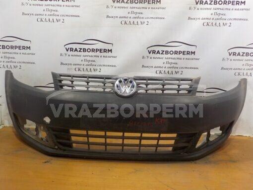 Бампер передний Volkswagen Caddy III 2004-2015  2K5807217A9B9,  2K5807221A б/у