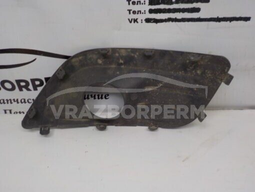 Решетка бампера переднего правая (под ПТФ) VAZ Lada Largus 2011>   б/у