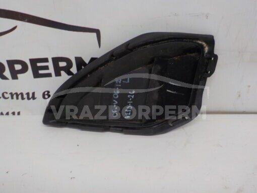 Решетка бампера переднего левая (без ПТФ) Honda CR-V 2007-2012  71109SWWG000