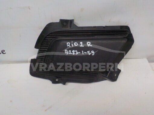 Решетка бампера переднего правая (без ПТФ) Kia RIO 2005-2011  865641G600