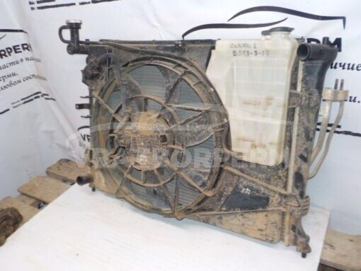 Диффузор вентилятора Kia Cerato 2009-2013  253501M000 б/у
