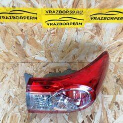 Фонарь задний правый наружный (в крыло) Toyota Corolla E15 2006-2013 8155112A30 2