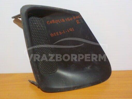 Решетка бампера переднего правая (без ПТФ) Toyota Corolla E15 2006-2013   8148102170