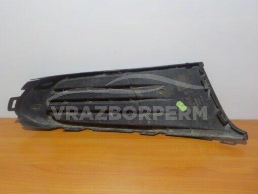 Решетка бампера переднего левая (без ПТФ) Volkswagen Polo (Sed RUS) 2011>   6RU853665C9B9