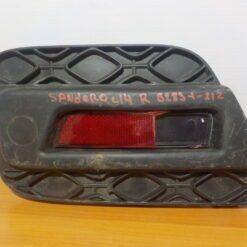 Накладка бампера (молдинг) задн. прав. Renault Sandero 2014>  850766363r б/у