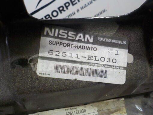 Панель передняя (телевизор) Nissan Tiida (C11) 2007-2014  62511EL030