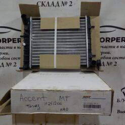 Радиатор основной Hyundai Accent II (+ТАГАЗ) 2000-2012  2531025Q11, 2531025250