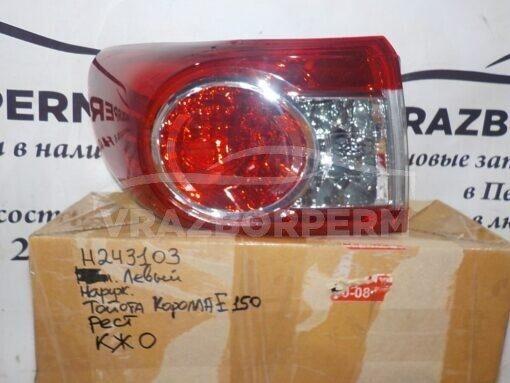 Фонарь задний левый наружный (в крыло) Toyota Corolla E15 2006-2013  8156112A30