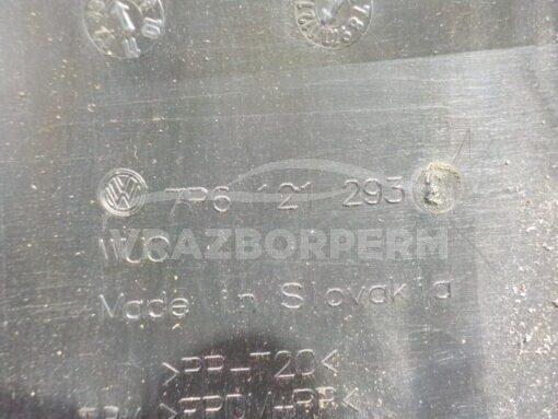 Воздухозаборник (наружный) перед. центр. Volkswagen Touareg 2010-2018  7p6121293 б/у