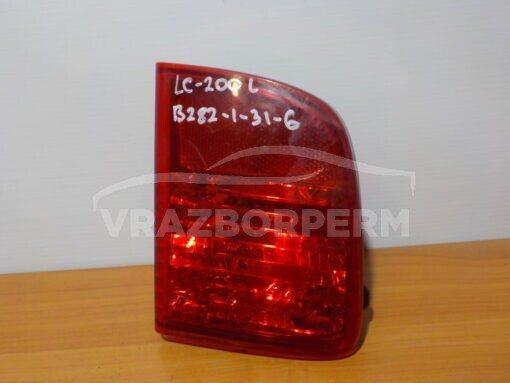 Фонарь задний левый (в бампер) Toyota Land Cruiser (200) 2008>   8145660030 б/у
