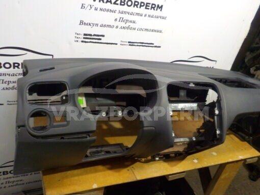 Панель приборов (торпедо) перед. Volkswagen Polo (Sed RUS) 2011>   6RU857003L82V б/у