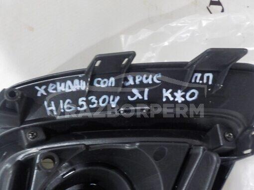 Решетка бампера переднего правая (под ПТФ) Hyundai Solaris 2017>  86522H5010