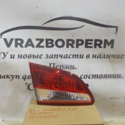 Фонарь задний левый внутренний (в крышку) Nissan Almera (G15) 2013>  265554AA1A