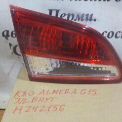 Фонарь задний левый внутренний (в крышку) Nissan Almera (G15) 2013>  265554AA1A 1