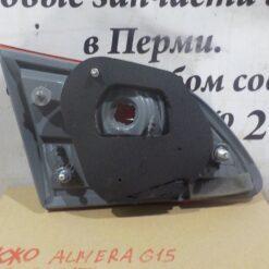 Фонарь задний правый внутренний (в крышку) лев. Nissan Almera (G15) 2013>  265504AA1A 2