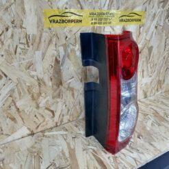 Фонарь задний правый VAZ Lada Largus 2011-2020 6001549106, 8200864610 1