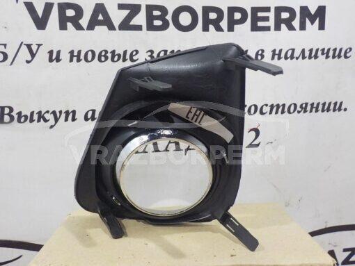 Решетка бампера переднего правая (под ПТФ) Toyota Corolla E15 2006-2013  8148112180