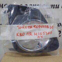 Решетка бампера переднего правая (под ПТФ) Toyota Corolla E15 2006-2013  8148112180 2