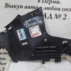 Пыльник бампера (защита) пер прав перед. Renault Logan 2005-2014  6001549323
