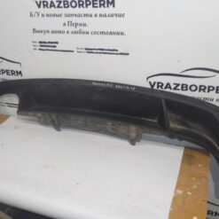 Спойлер бампера (юбка) задн. Volkswagen Passat [B7] 2011-2015  3AE807521A б/у