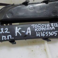 Решетка бампера переднего правая (под ПТФ) Toyota Corolla E12 2001-2007 5212702120 2
