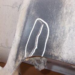 Спойлер бампера (юбка) передн. Porsche Cayenne 2010-2017 7P5807061 95850506100 1