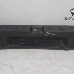 Обшивка багажника задняя (задней панели) центр. Volkswagen Polo (Sed RUS) 2011>  6ru863459