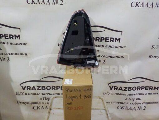 Фонарь задний правый Renault Logan 2005-2014  6001546795